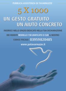 5x1000 Pubblica assistenza Tavarnuzze