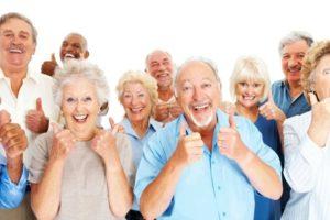 anzianoi felice